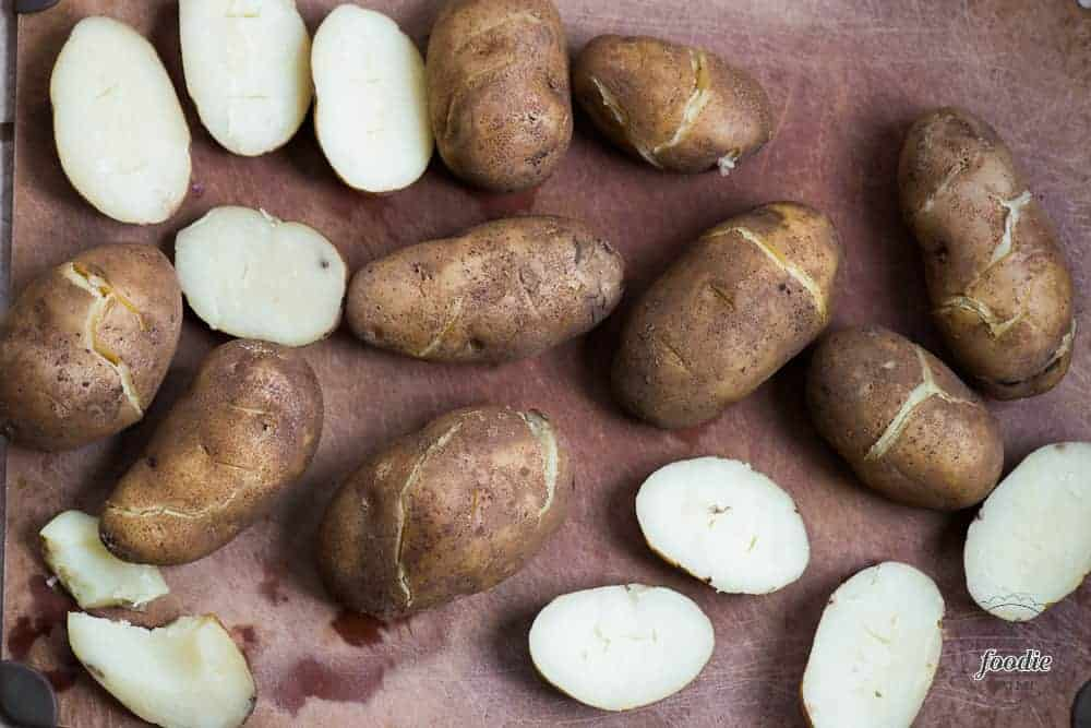 Easy Instant Pot Baked Potatoes. Better than the oven or microwave!