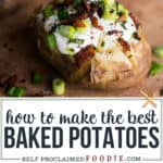 how to make the best baked potato in the instant pot