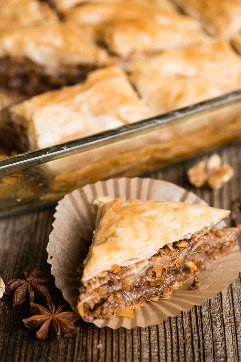 the best homemade baklava recipe with honey and walnuts