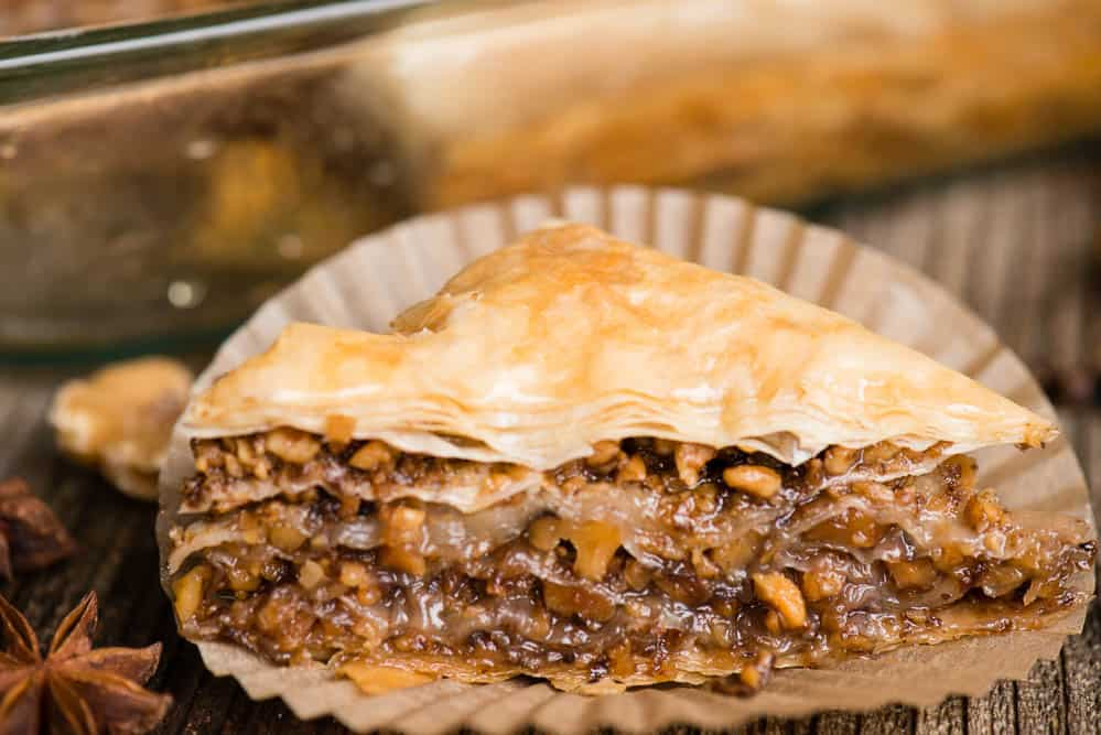 roasted walnut baklava recipe