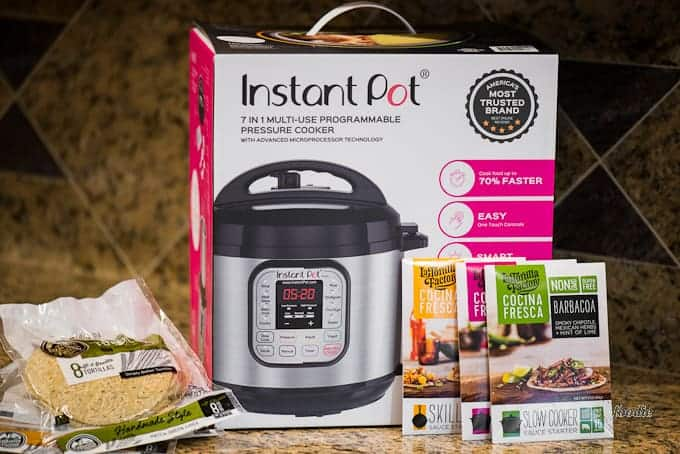 Instant Pot Giveaway and Barbacoa recipe