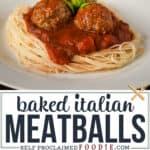 baked italian meatball recipe
