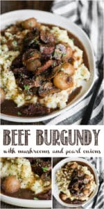 beef burgundy recipe with mushrooms and pearl onions