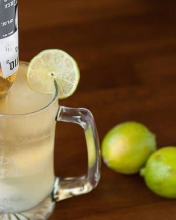 The ultimate cross between beer and cocktail, this Beer Garita combines Mexican beer with a freshly made margarita resulting in the perfect game day drink.