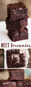 beet brownie recipe and video
