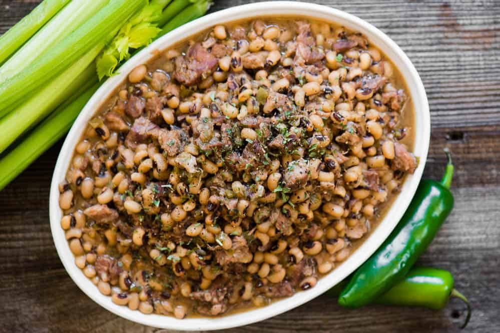 how to make Black Eyed Peas in the instant pot
