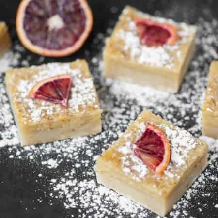 Blood Orange Bars