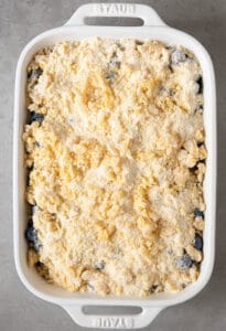 crumb topping for cobbler