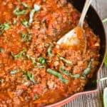 how to make an easy Bolognese sauce recipe