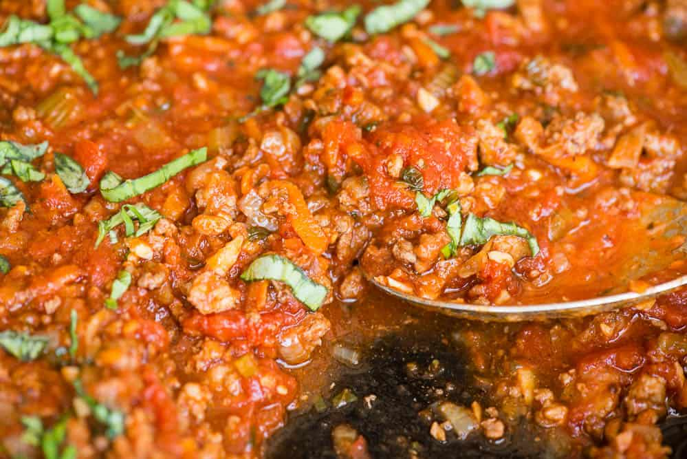 the best recipe for Bolognese sauce