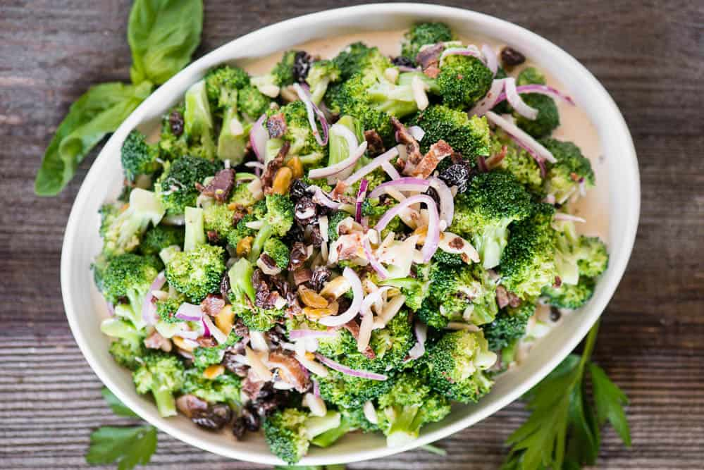 how to make the best fresh broccoli salad
