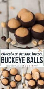 peanut butter buckeye ball recipe