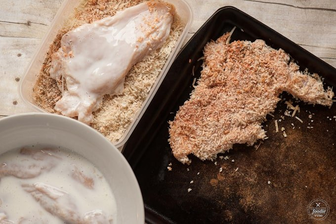 This moist and tender Buttermilk Baked Chicken is not only quick and easy to make for family dinner, but it is the perfect new comfort food.