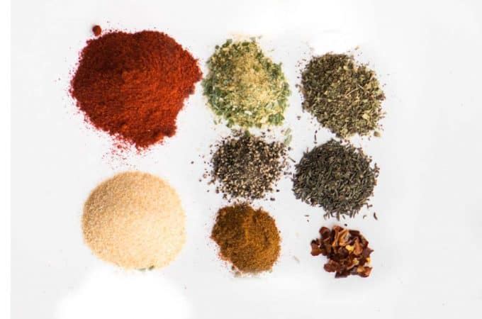 Homemade Cajun Seasoning Mix is an easy combination of cajun spices that you can make yourself. Cajun seasoning will add heat and flavor to your food!