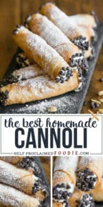 the best homemade cannoli