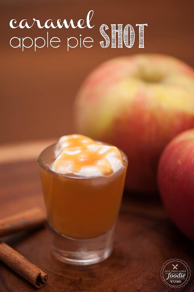 how to make a shot with apple vodka and apple juice