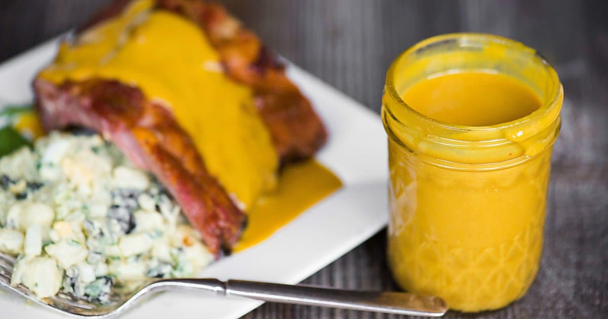 Carolina mustard barbecue sauce self proclaimed foodie forumfinder Image collections