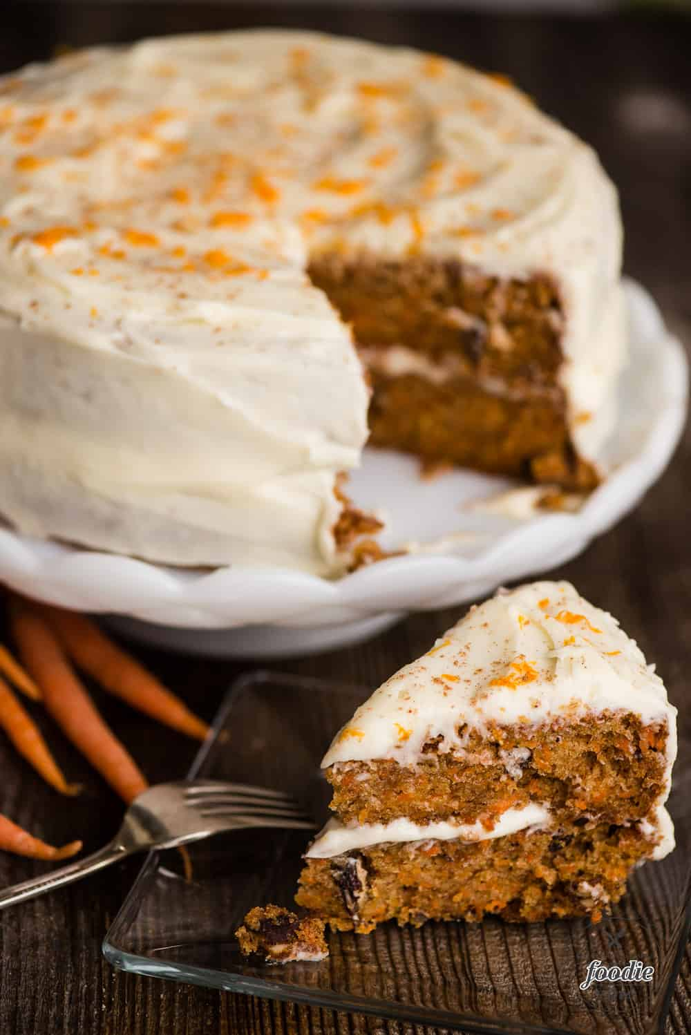 How to make carrot cake frosting recipe