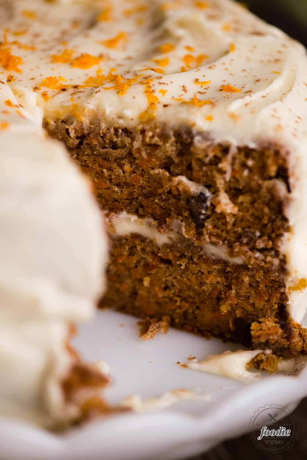 Carrot Cake Not Cooked Middle