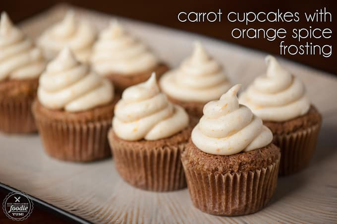 Carrot Cupcakes with Orange Spice Frosting | Self ...