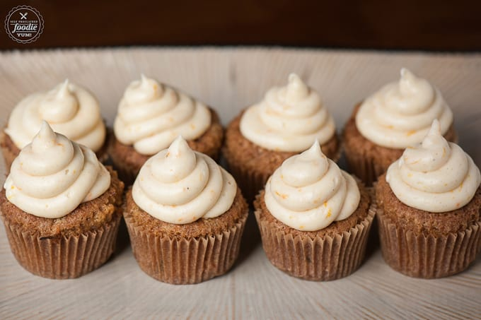 These Carrot Cupcakes with Orange Spice Frosting are the most moist ...
