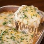 Cheesy Green Chile Chicken Lasagna