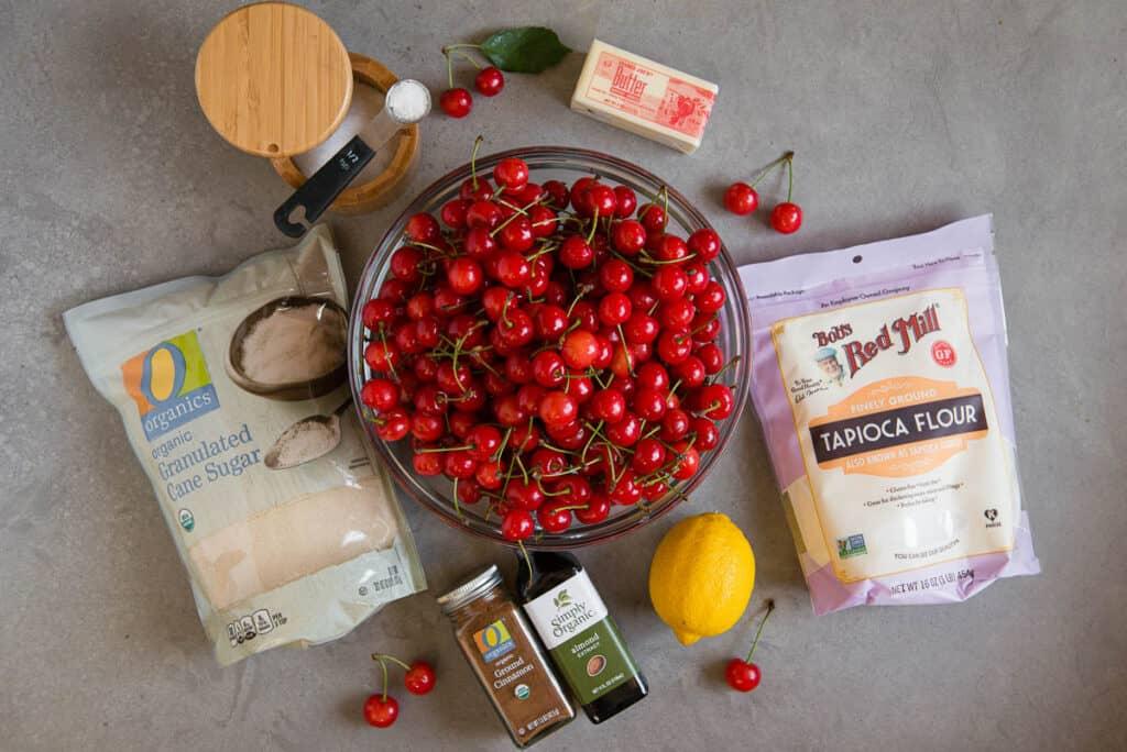 Cherry Pie filling ingredients