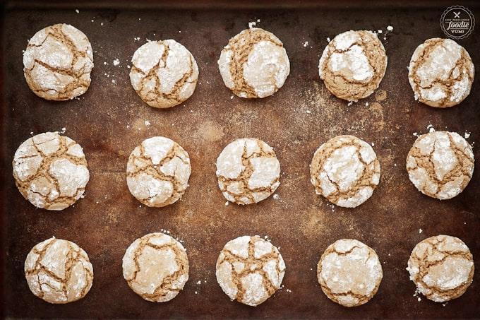 baked brown sugar cookies