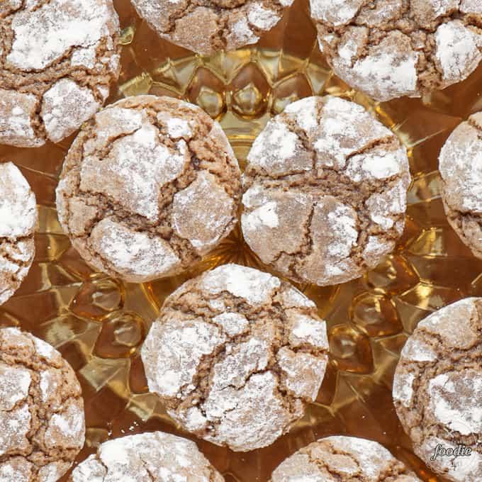 brown sugar cookies on a plate