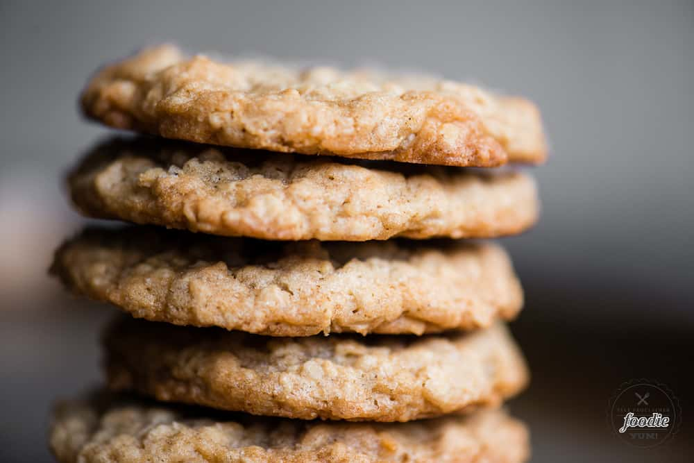 oatmeal cookie recipe without raisins
