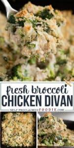 fresh broccoli chicken divan recipe