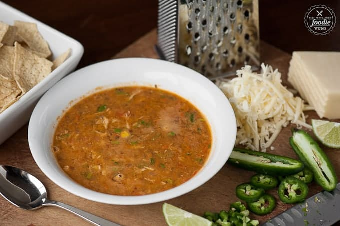 Chicken Tortilla Soup | Self Proclaimed Foodie