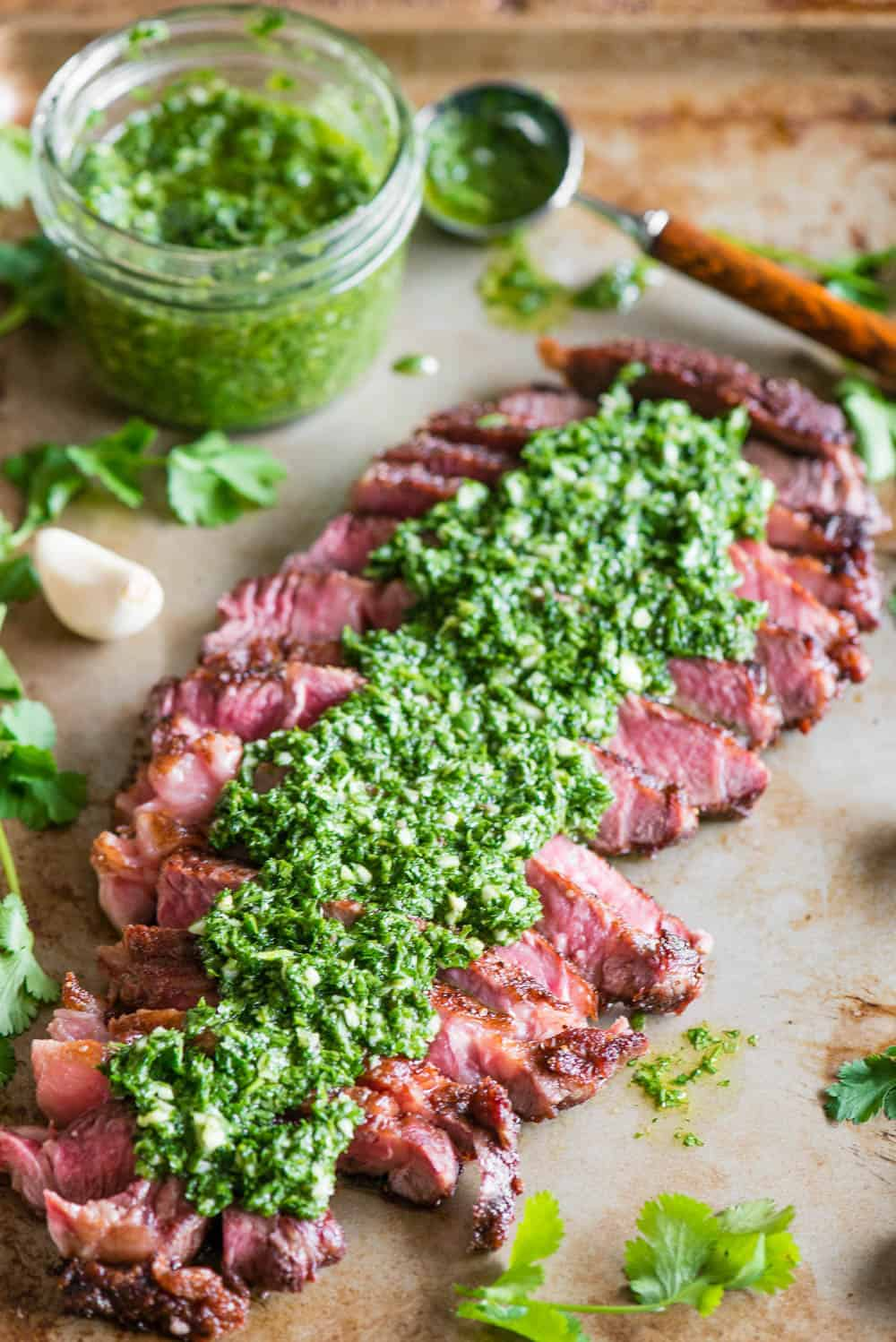 The best recipe for Chimichurri Steak