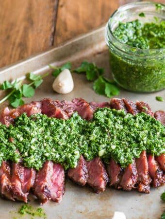 How to make Chimichurri Steak
