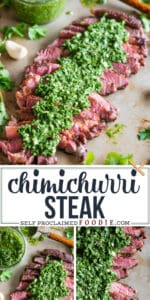 how to make the best Chimichurri Steak recipe