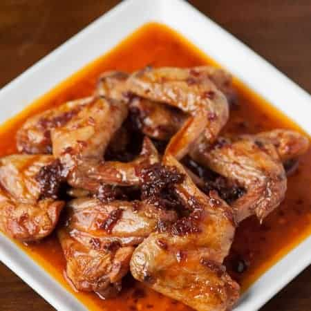 Chipotle Butter Beer Wings are tender mouthwatering chicken wings with a sweet and spicy sauce that will have you licking your fingers and asking for more.