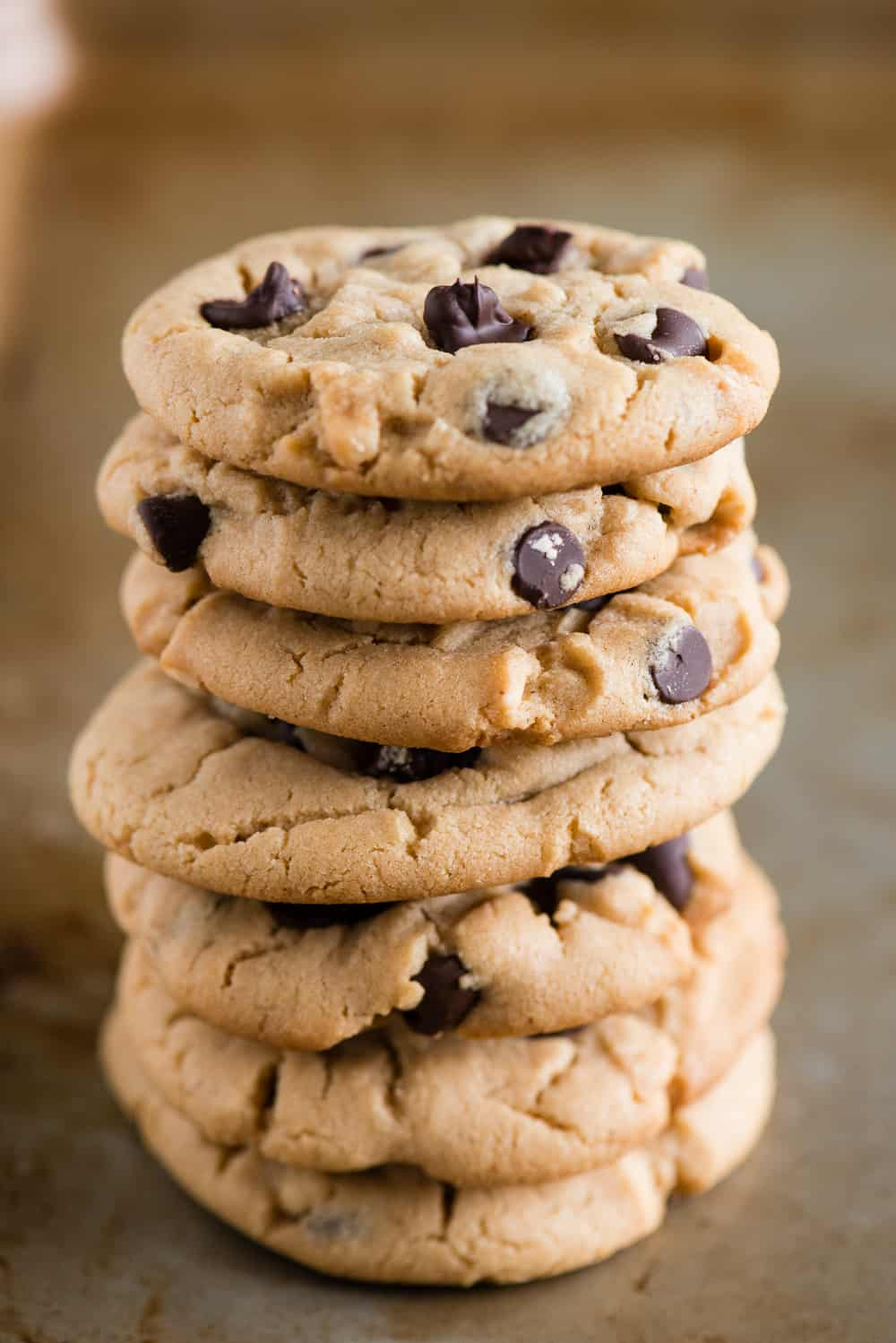 how to make the best Chocolate Chip Peanut Butter Cookies