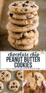 the best recipe for Chocolate Chip Peanut Butter Cookies
