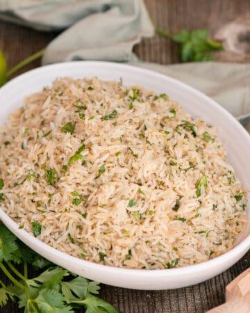 homemade Cilantro Lime Rice
