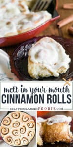 recipe for melt in your mouth homemade cinnamon rolls