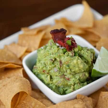 If you're in a race against some of the most talented food bloggers, which five ingredients would you choose to make your Competition Worthy Guacamole?