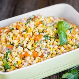 easy cold fresh Corn Salad