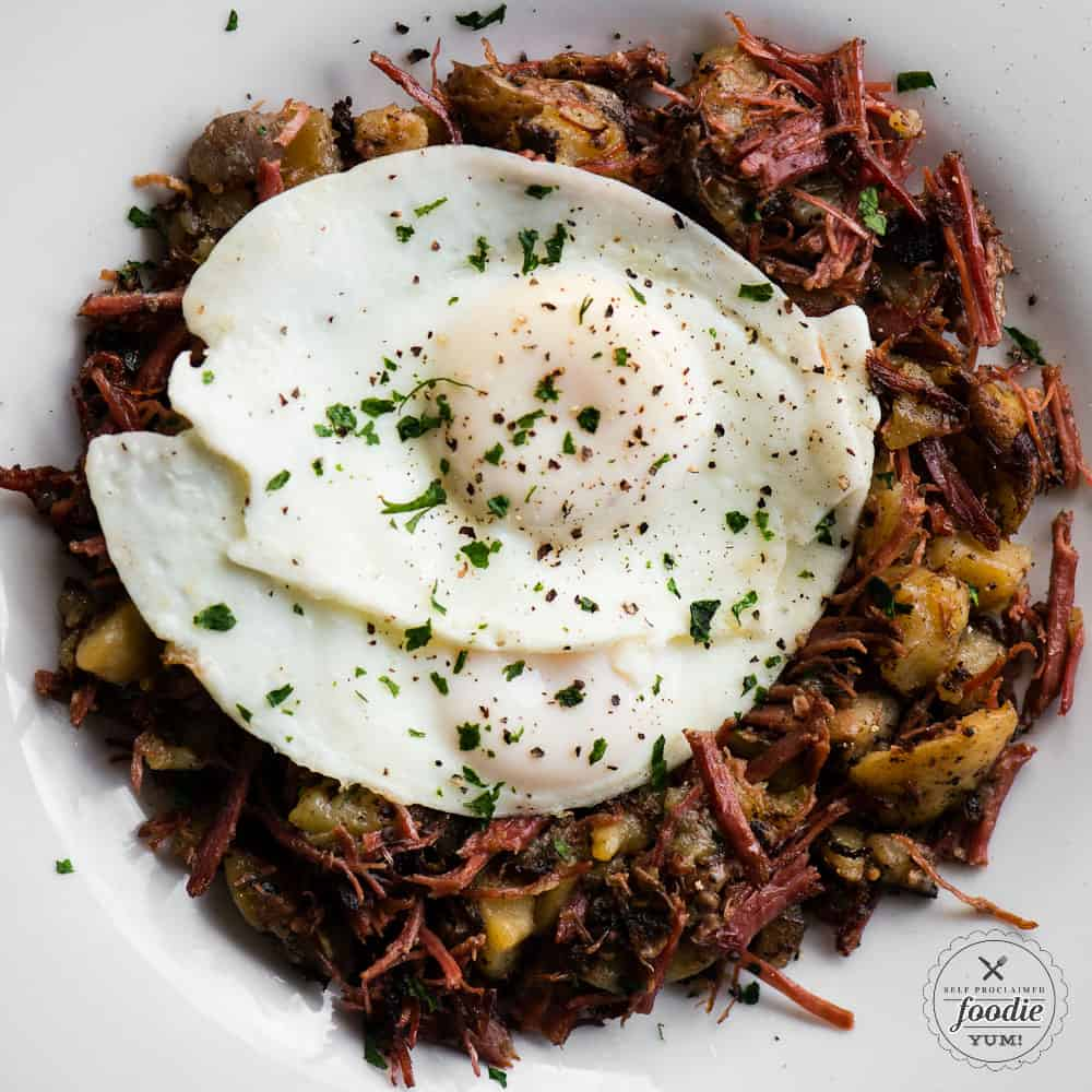 Corned Beef Hash in the Instant Pot