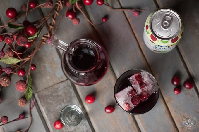Fruity, tart, and sparkling cocktails are always so refreshing and this Cranberry Fizz, spiked with vodka, is an easy drink you're sure to love.