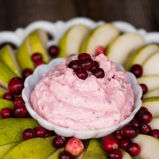 Cranberry Fruit Dip