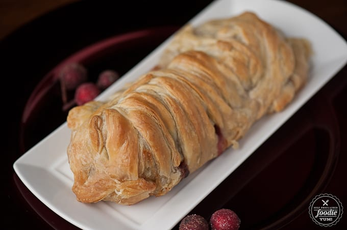 Cranberry Pecan Brie en Croute | Self Proclaimed Foodie