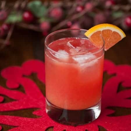 Cranberry Vodka Screwdriver Drink Recipe
