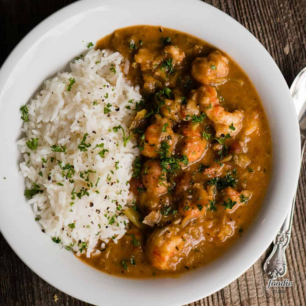 cajun Crawfish Etouffee