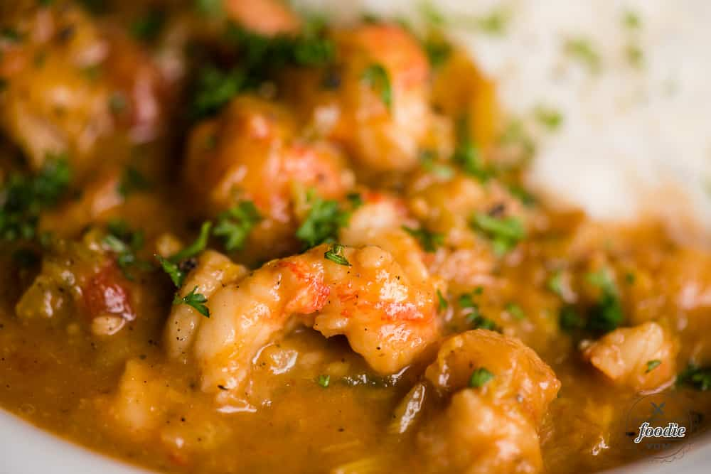 How to make Crawfish Etouffee