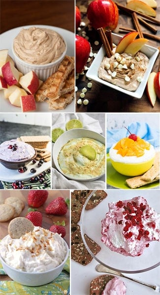 Easy fruit dip with cream cheese recipes.